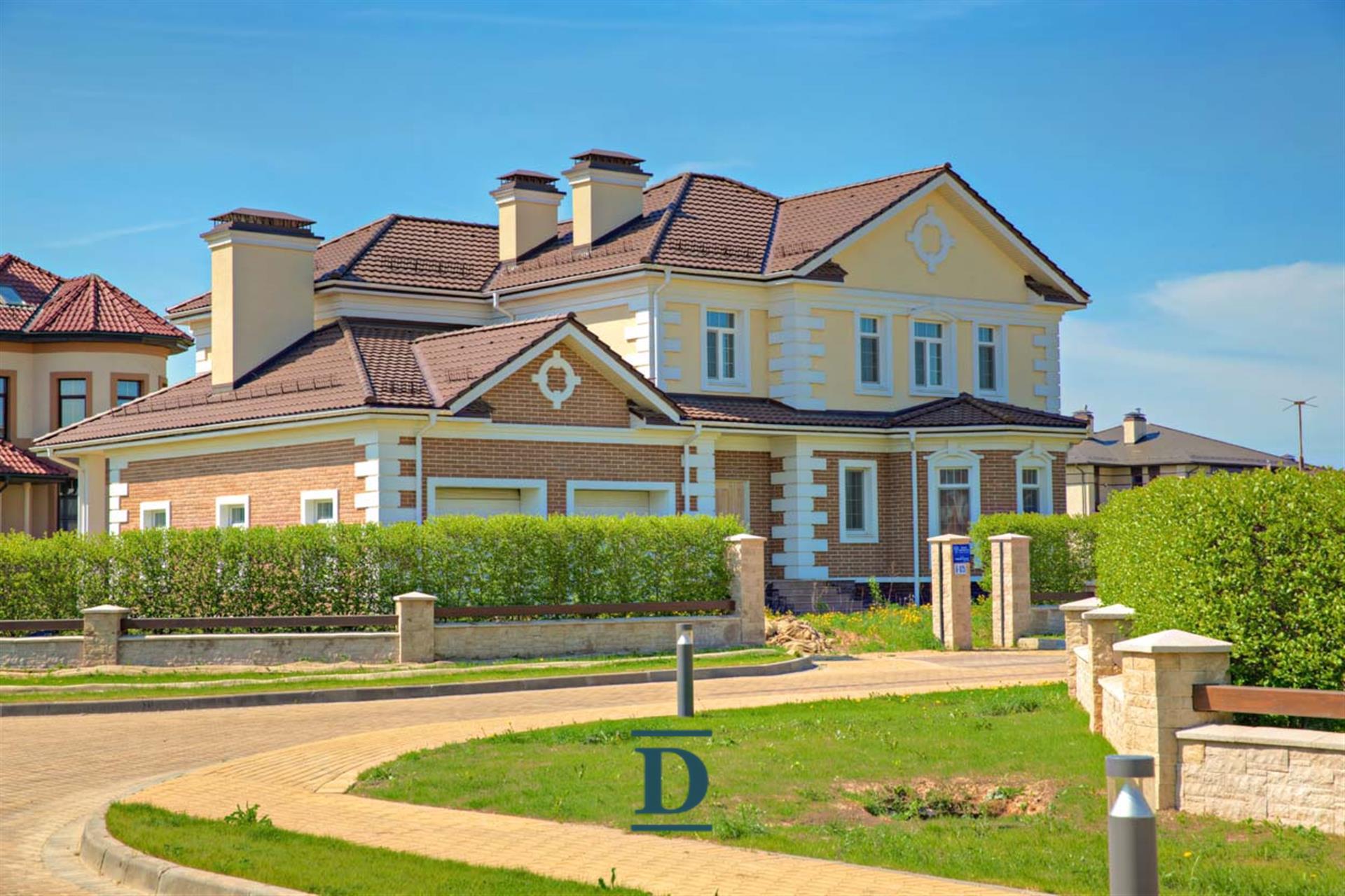 дом ID-16 в коттеджном посёлке Миллениум Парк