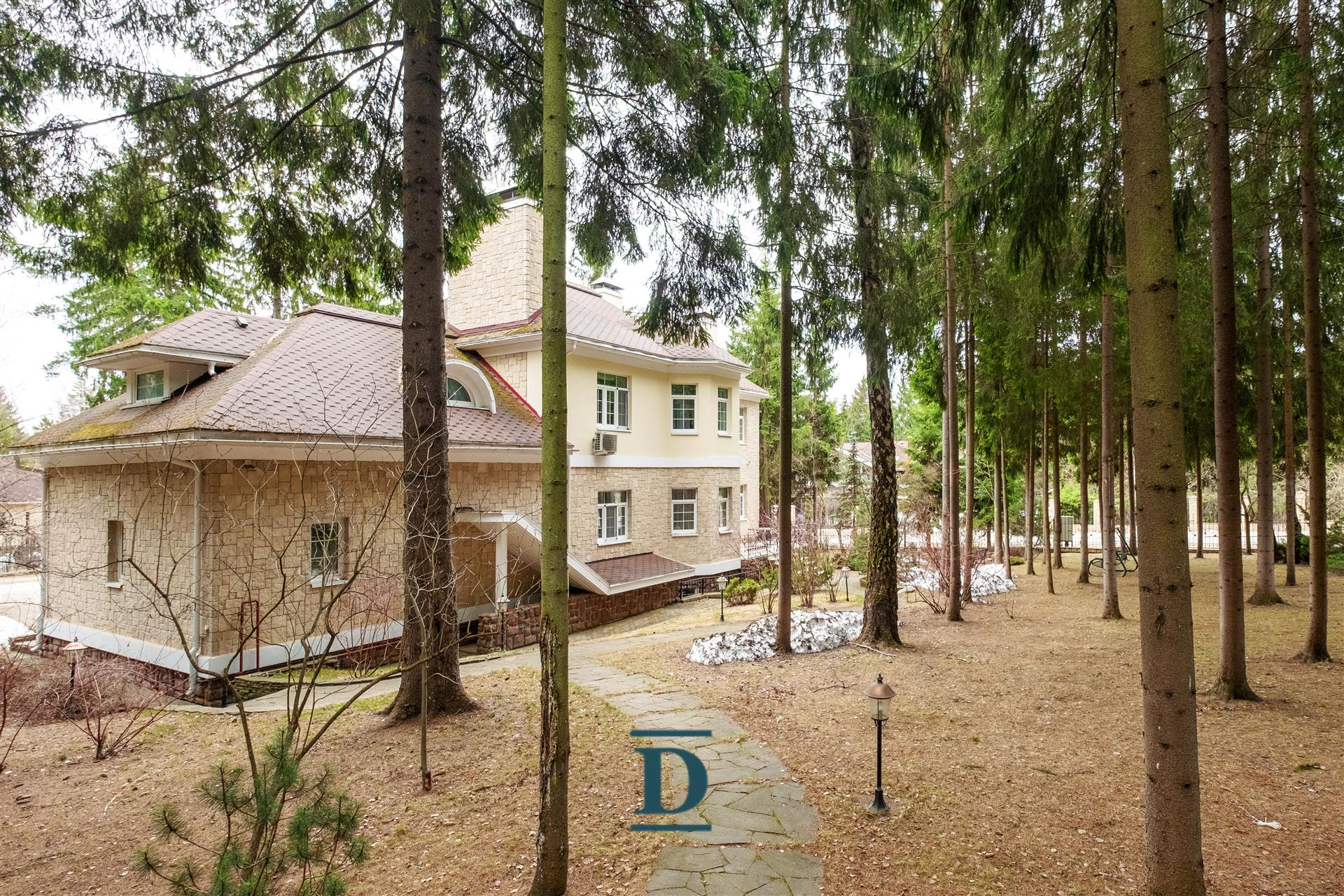 дом ID-297 в коттеджном посёлке Шервуд
