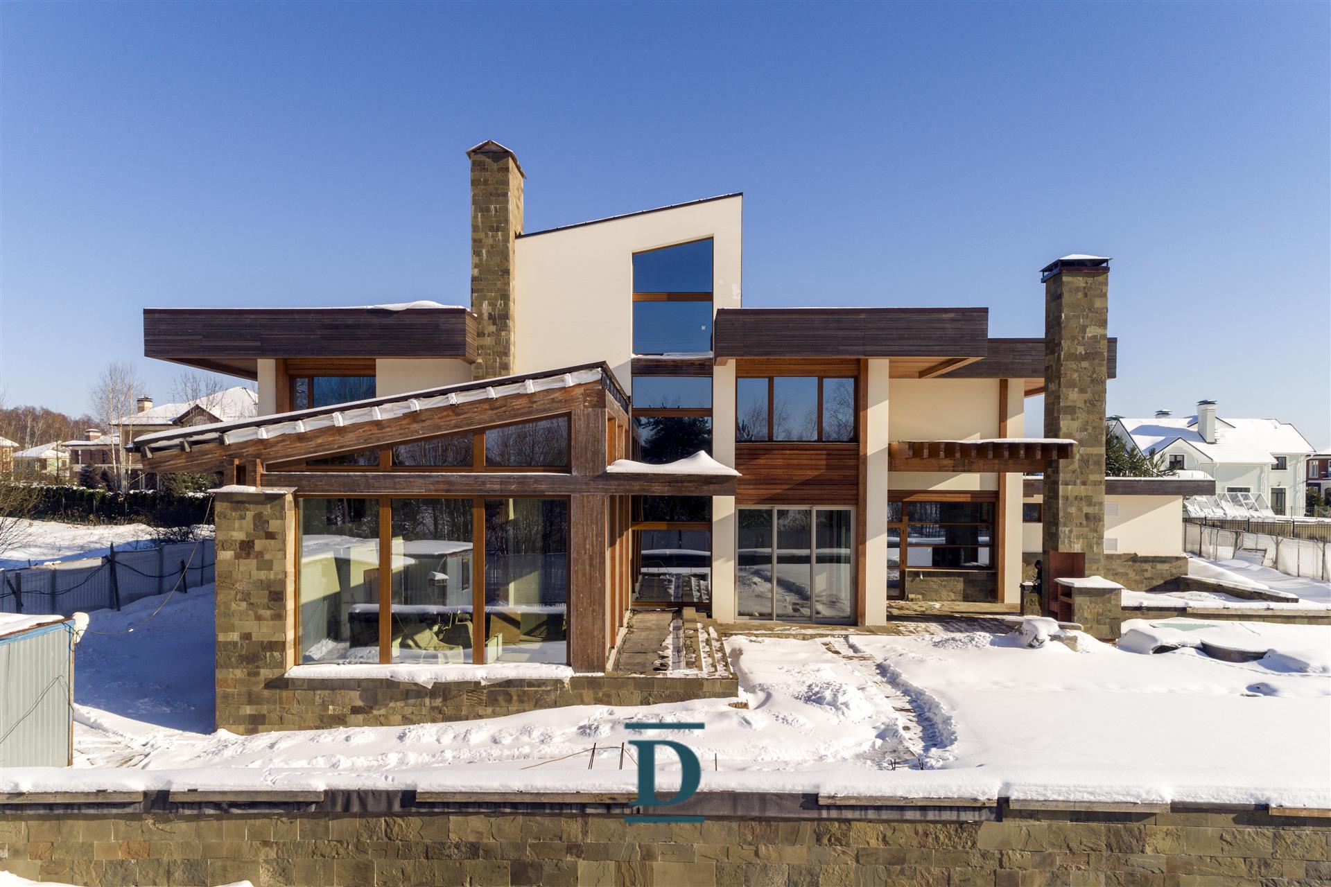дом ID-51 в коттеджном посёлке Монтевиль