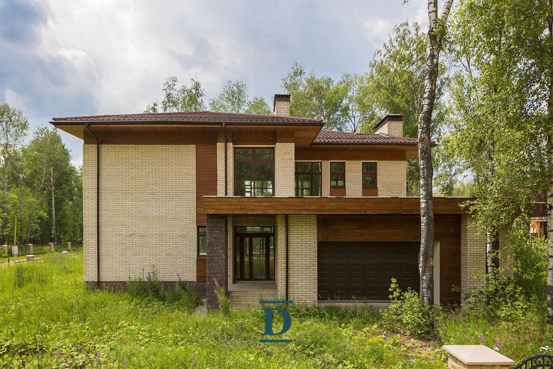 дом ID-132 в коттеджном посёлке Монтевиль