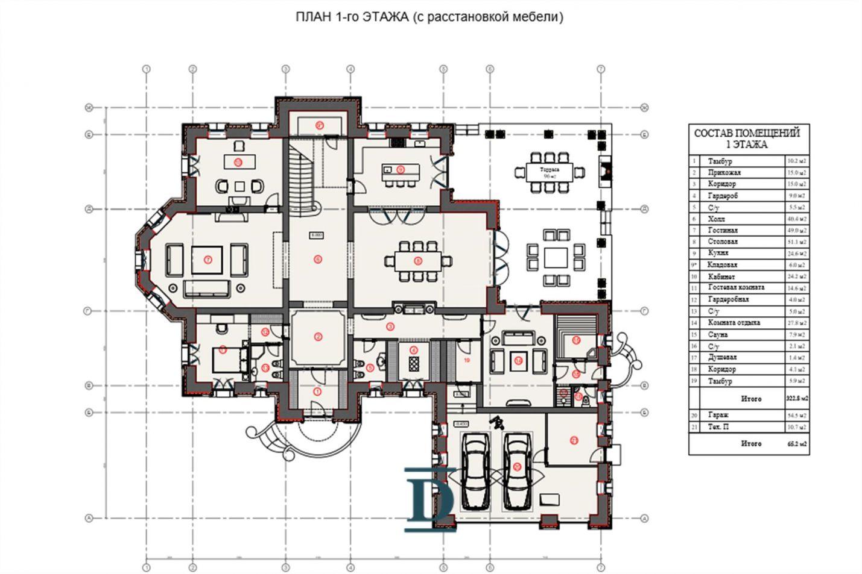 дом ID-181 в коттеджном посёлке Миллениум Парк фото-8