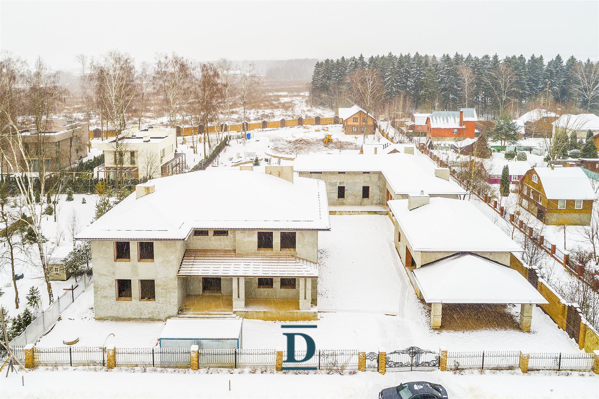 дом ID-222 в коттеджном посёлке Монтевиль