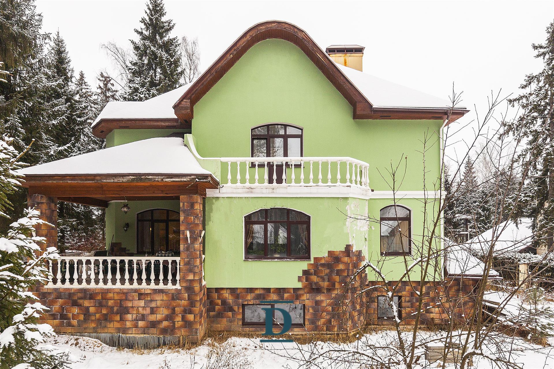 дом ID-226 в коттеджном посёлке Шервуд