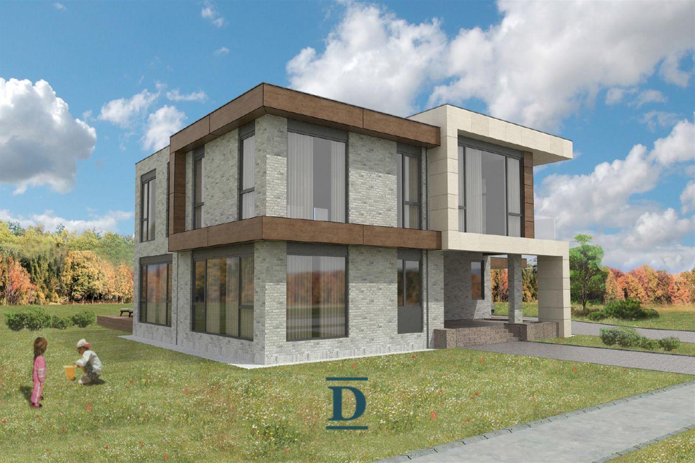 дом ID-249 в коттеджном посёлке Мэдисон парк