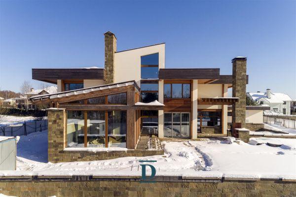 дом ID-51 в коттеджном посёлке Монтевиль фото-1