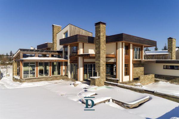 дом ID-51 в коттеджном посёлке Монтевиль фото-2