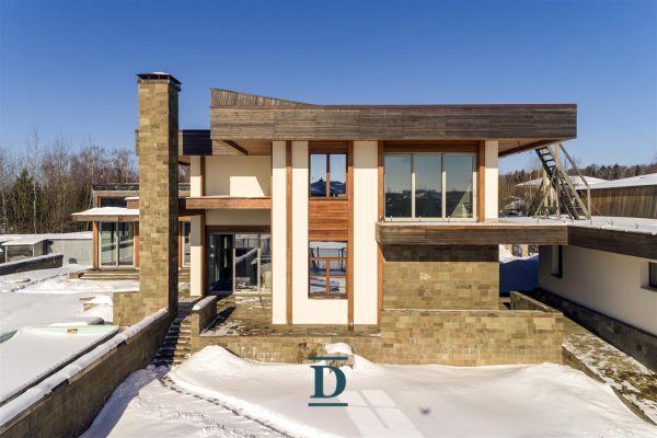 дом ID-51 в коттеджном посёлке Монтевиль фото-3